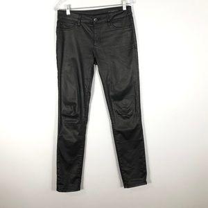 DL1961 Florence Instasculpt Black Sheen Jeans- 29